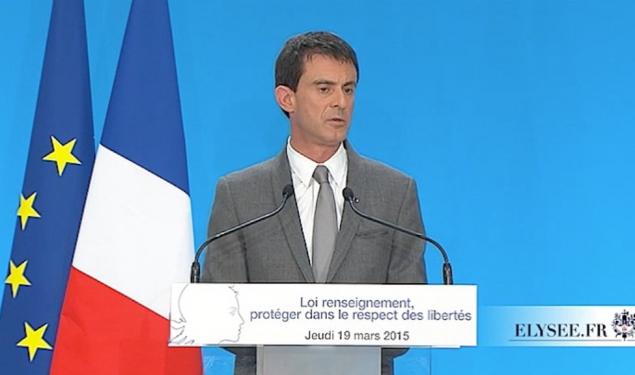 Projet de loi sur le renseignement : Conférence de presse de Manuel Valls