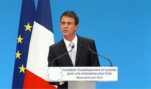 Soutenir l'investissement et continuer de réformer : conférence de presse de Manuel Valls.