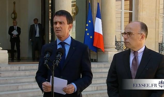 """""""Face à la menace terroriste sans précédent, il faut nous mobiliser avec lucidité et une très grande détermination"""""""
