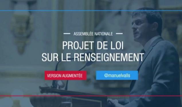 #PJLRenseignement : discours de Manuel Valls à l'Assemblée nationale, en version augmentée