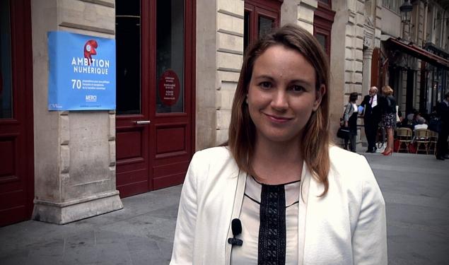 """""""L'#AmbitionNumerique de la France est très élevée, tout commence"""""""