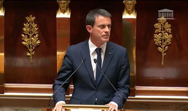 Allocution de Manuel Valls sur la situation de la Grèce et les enjeux européens