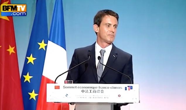"""""""Je voudrais adresser ce message aux chefs d'entreprise chinois : venez investir en France. Elle saura toujours répondre à vos attentes"""""""
