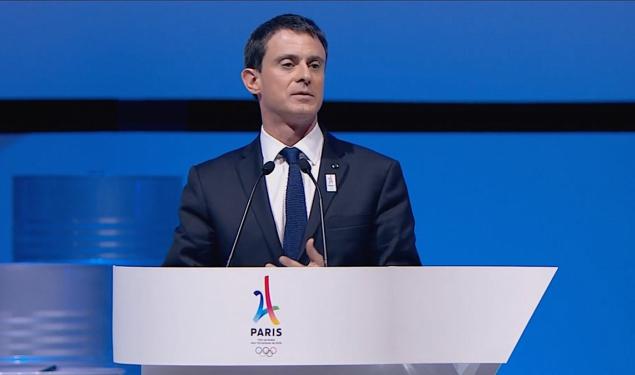 """""""Nous donnons à la candidature Paris 2024 des fondations solides : belles comme Paris, passionnées comme notre peuple, mais aussi ouvertes au monde, car c'est l'histoire de notre Nation"""""""