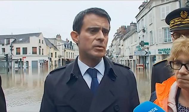 """""""J'ai voulu me rendre à Nemours pour marquer ma solidarité auprès des habitants sinistrés"""""""