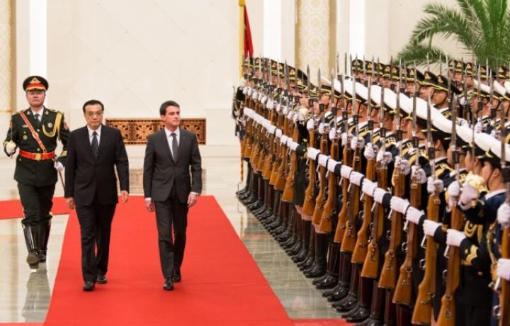 Accédez à l'article : A Pékin, Manuel Valls appelle au rééquilibrage des relations commerciales entre la France et la Chine