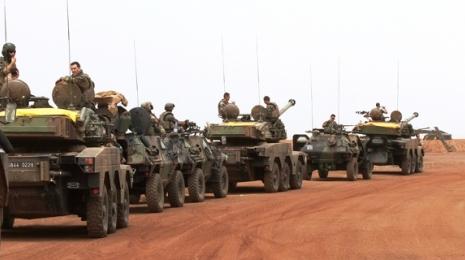 Accéder à la page dédiée à l'action Pour une armée moderne