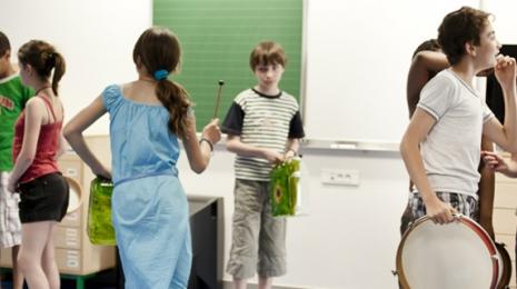 Accéder à la page dédiée à l'action Une nouvelle organisation du temps scolaire