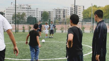 Accéder à la page dédiée à l'action Le sport, un formidable outil au service de la citoyenneté