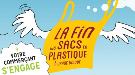Accéder à la page dédiée à l'action Fin des sacs plastique jetables : l'interdiction entre en vigueur le 1er juillet