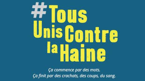 Accèder à la page #TousUnisContreLaHaine
