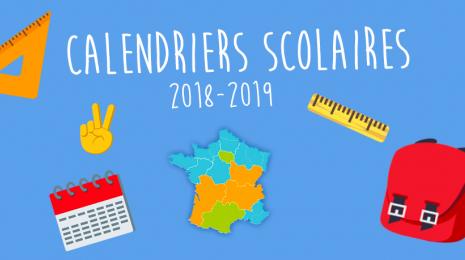 Accèder à la page Rentrée 2018 : les calendriers scolaires par zones académiques