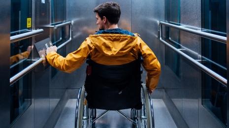 Accèder à la page Accessibilité : les ascenseurs seront obligatoires dans les immeubles neufs d'au moins 3 étages