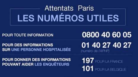 Accèder à la page En direct - Attentats de Paris : les informations à connaître