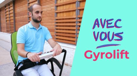 Accèder à la page Avec vous | La mobilité pour tous avec Gyrolift