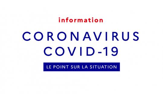 Coronavirus - informations utiles