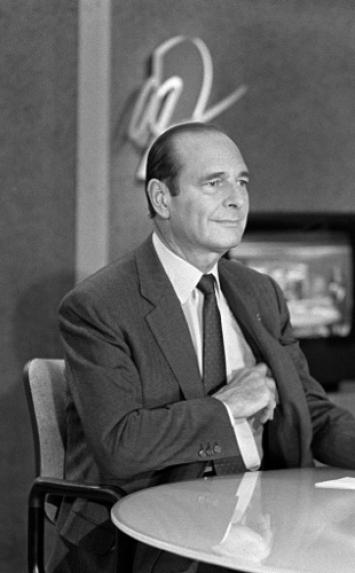 Jacques Chirac, le 7 juin 1997