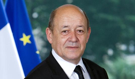 Portrait de Jean-Yves-Le-Drian