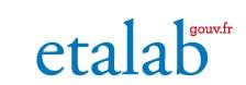 Logo Etalab