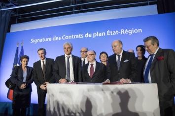 Signature des Contrats de plan Etat Régions