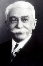 Portrait of Pierre de Coubertin