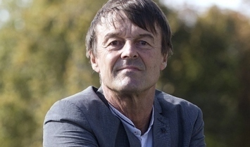 Portrait of France's Miniser Nicolas Hulot