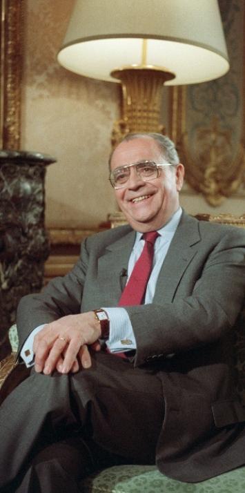 Portrait de Pierre Bérégovoy