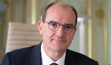 Portrait of French Prime Minister, Jean Castex
