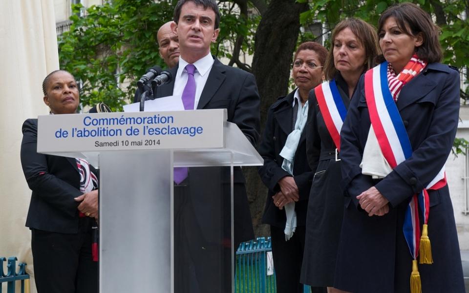 Discours de Manuel Valls pour la journée nationale des mémoires de la traite, de l'esclavage et de leurs abolitions