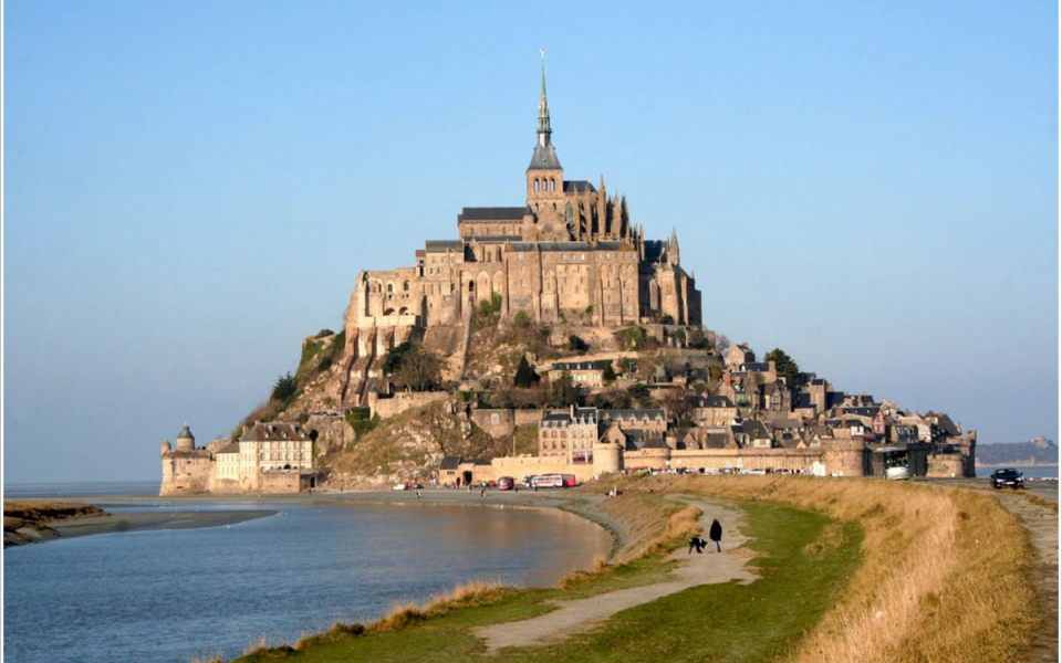 Le mont Saint-Michel en Basse-Normandie