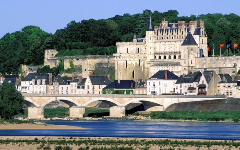 Le château d'Amboise dans le Centre