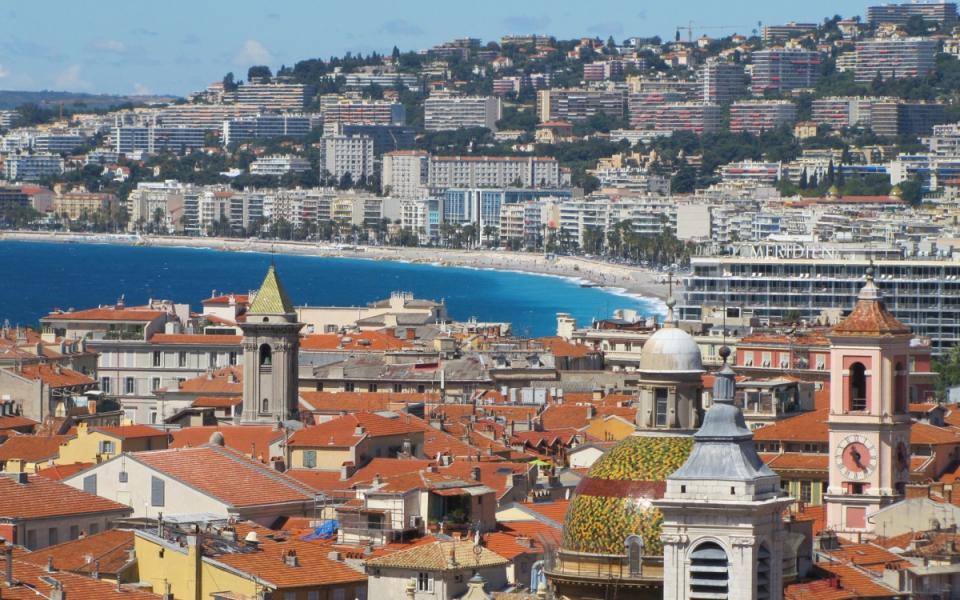 La ville de Nice en région Paca