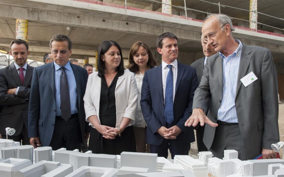 Présentation du projet de construction de logements du quartier du Charolais.