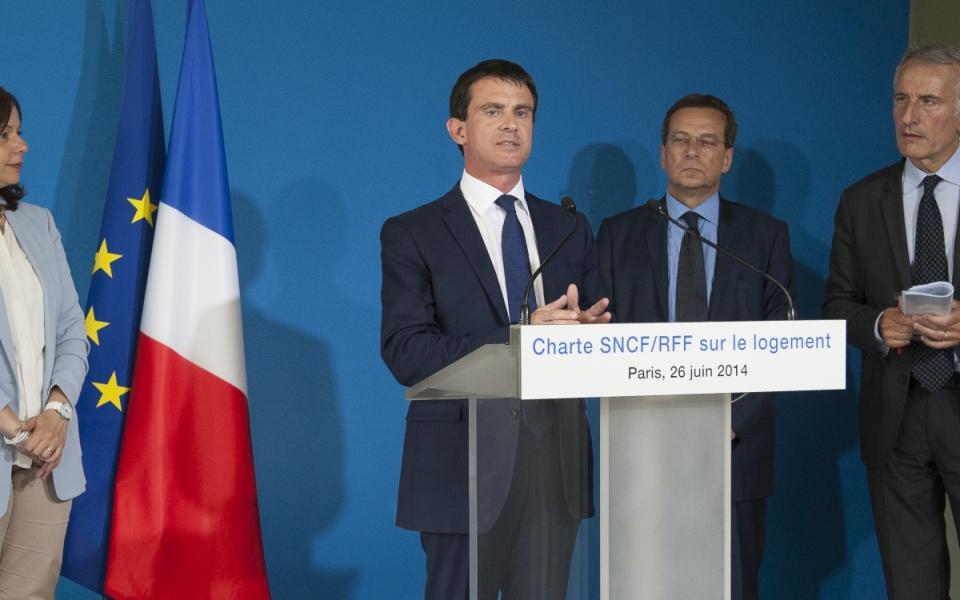 Discours de Manuel Valls.