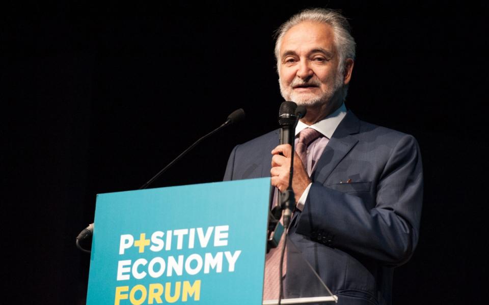 Discours de Jacques Attali, président du Mouvement pour une économie positive