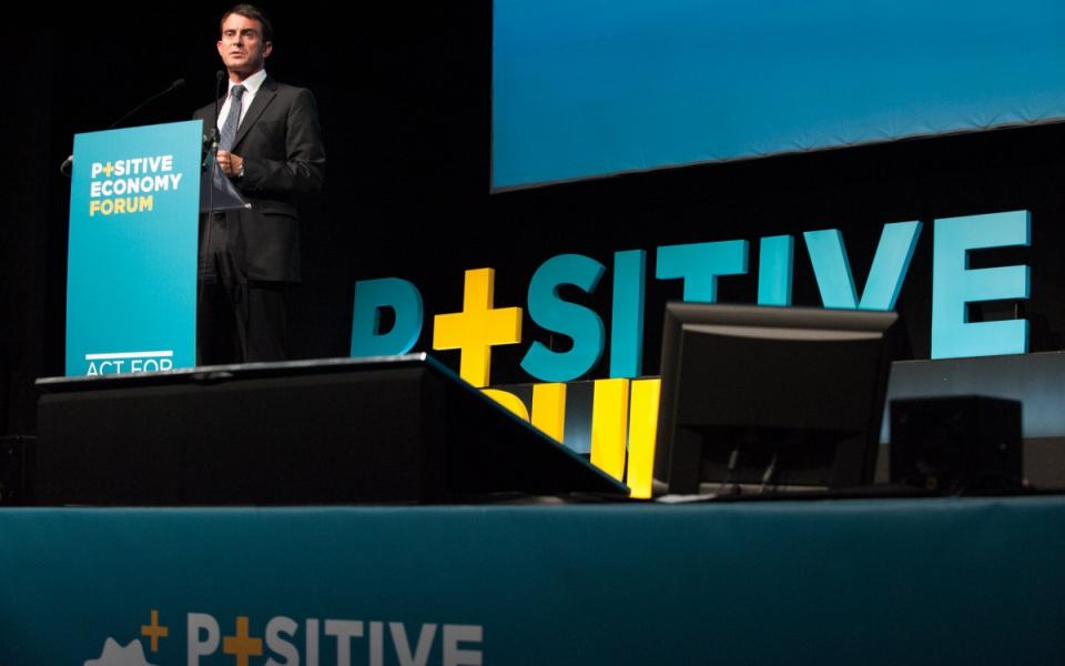 Discours d'ouverture du Forum mondial de l'économie positive