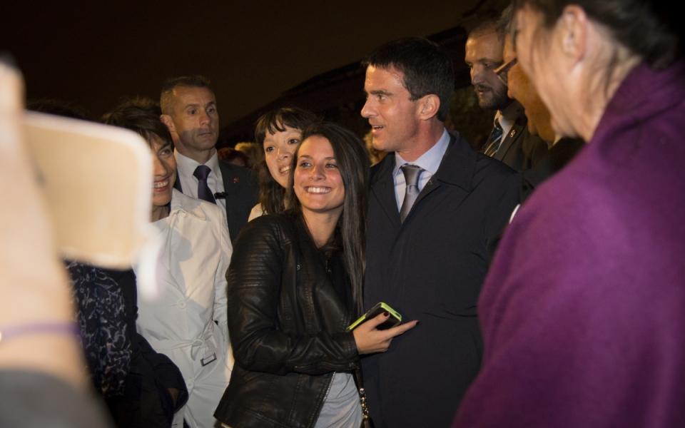 Manuel Valls à La Nuit blanche Paris 2014