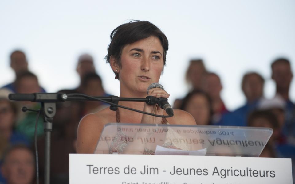 """Une lauréate du Prix """"Graines d'agriculteurs"""""""