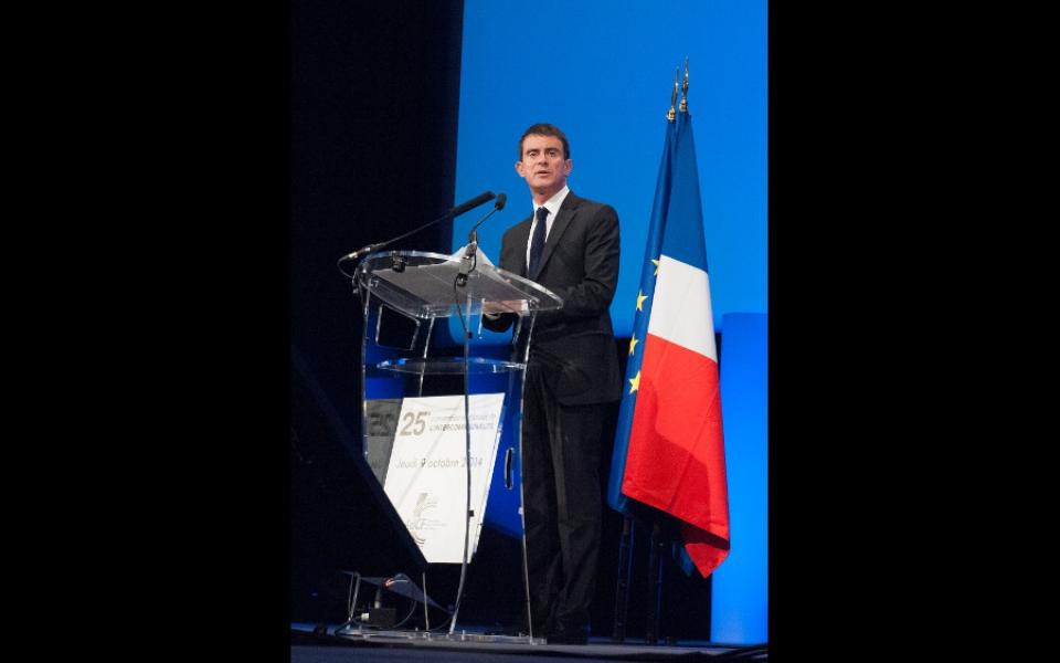 Discours de Manuel Valls au Grand Palais de Lille