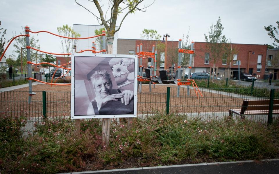 Exposition sur les habitants du quartier Anru Dutemple, à Valenciennes