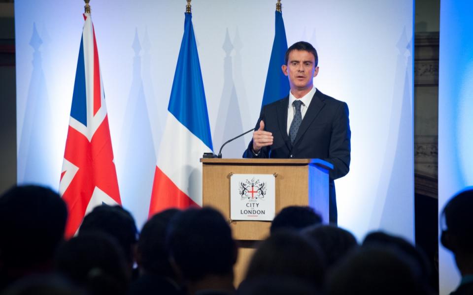 Discours de Manuel Valls à Guildhall (la City)