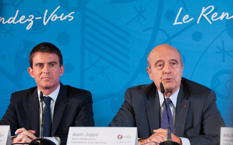 Manuel Valls et Alain Juppé