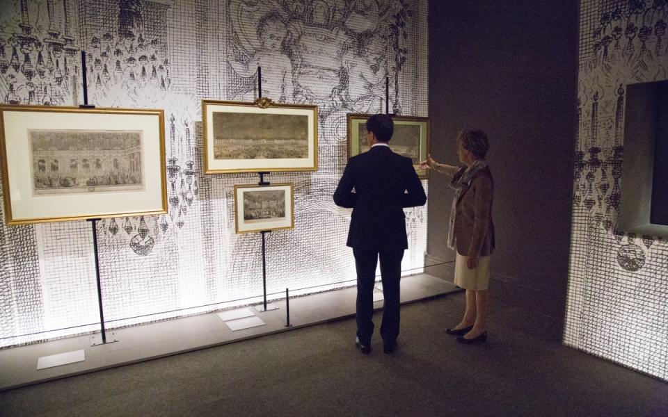 Manuel Valls visite le musée d'Arras