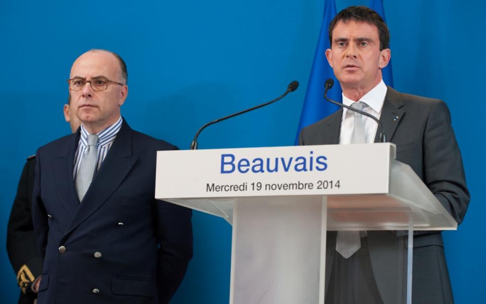 Allocution de Manuel Valls à la préfecture de l'Oise