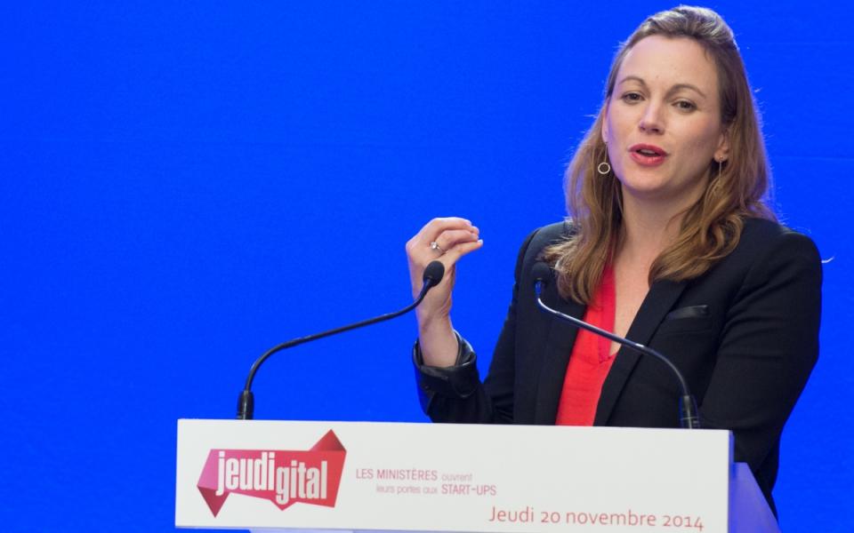 Axelle Lemaire lors de la 3e édition du #Jeudigital