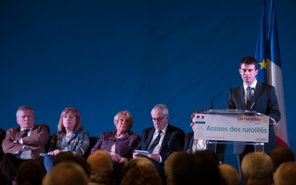 Allocution de Manuel Valls lors des Assises de la ruralité