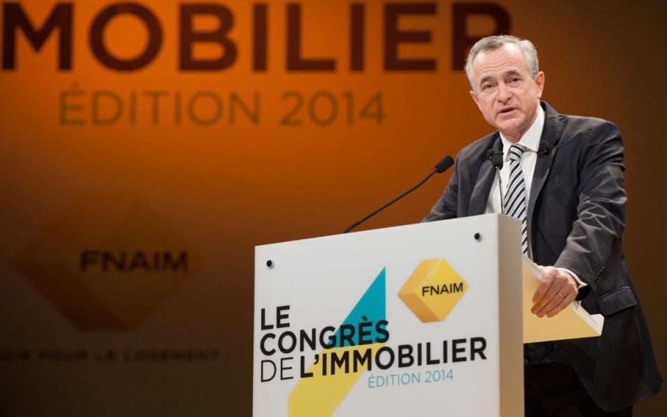 Allocution de Jean-François Buet, président de la FNAIM