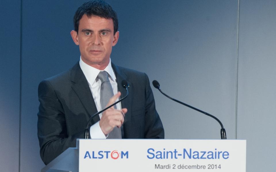 Allocution de Manuel Valls
