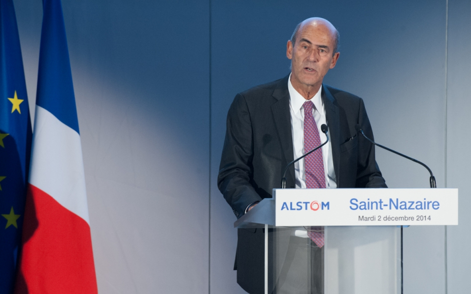 Allocution de Patrick Kron, président du groupe Alstom