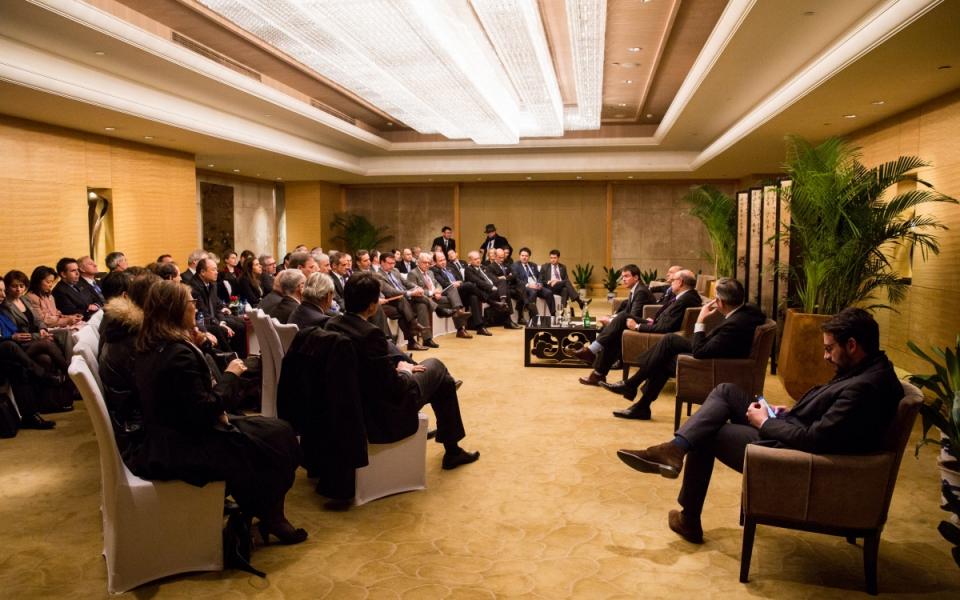 Rencontre avec la délégation d'affaire française du Comité France-Chine